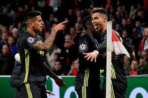 Ajax vs Juve Ronaldo mo ty so