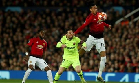 Smalling Messi