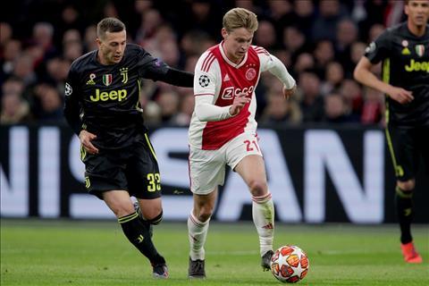 De Jong noi ve tran hoa 1-1 truoc Juventus
