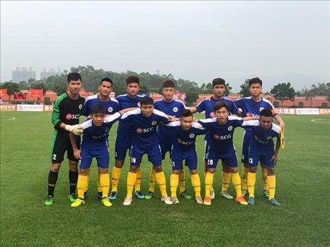 Đội U17 Hà Nội thắng U17 Banfield tại Trung Quốc hình ảnh