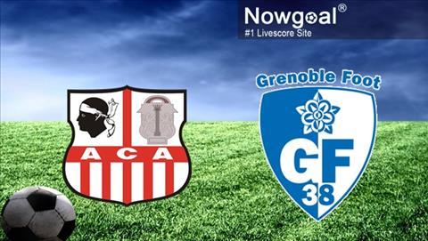 Ajaccio vs Grenoble 1h00 ngày 134 (Hạng 2 Pháp 201819) hình ảnh