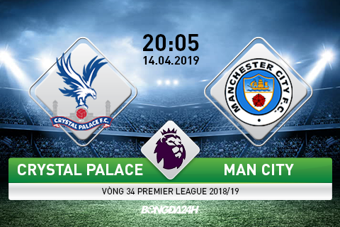 Preview Crystal Palace vs Man City