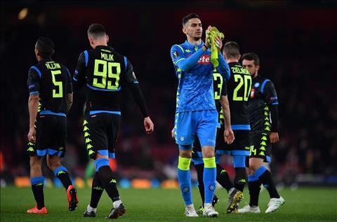Alex Meret phát biểu sau trận đấu Arsenal 2-0 Napoli hình ảnh