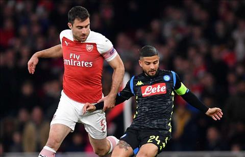 Lorenzo Insigne phát biểu sau trận đấu Arsenal 2-0 Napoli hình ảnh