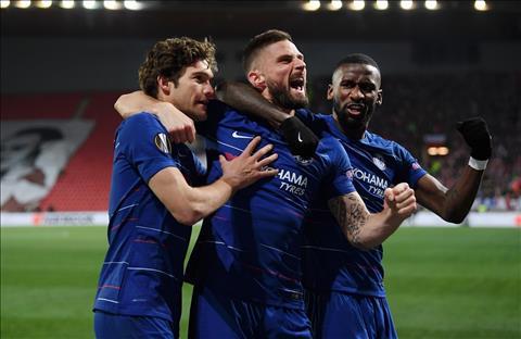 Chelsea vuot qua Slavia