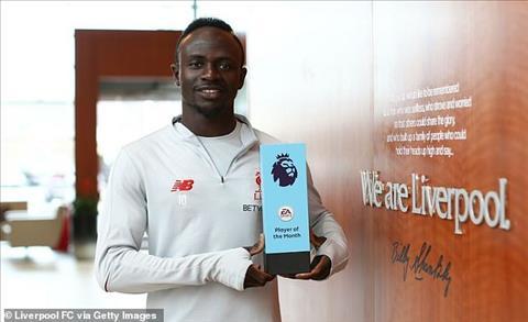 Sadio Mane là cầu thủ xuất sắc nhất Premier League tháng 32019 hình ảnh