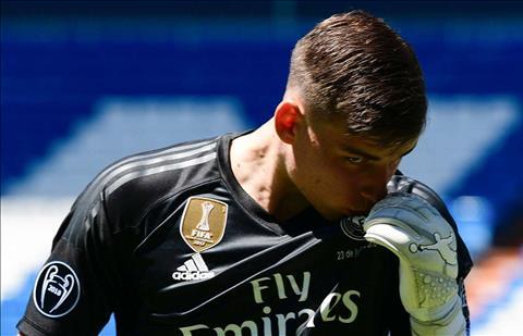Andres Prieto nhận xét về Andriy Lunin tại Real Madrid hình ảnh