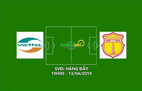 Link xem Viettel vs Nam Định trực tiếp bóng đá V-League 2019 hình ảnh