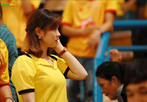 Su xuat hien cua cac bong hong khien khu vuc cua CDV Nam Dinh co them nhung sac thai khac.