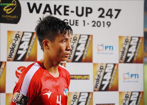 Trung ve Bui Tien Dung tiet lo ve kha nang ghi ban tai V-League 2019.