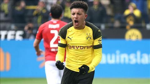 Jadon Sancho phát biểu sau trận thắng Mainz hình ảnh