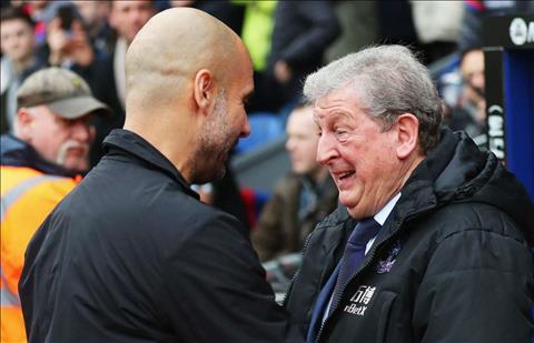 Pep Guardiola ca ngợi Roy Hodgson của Palace hình ảnh