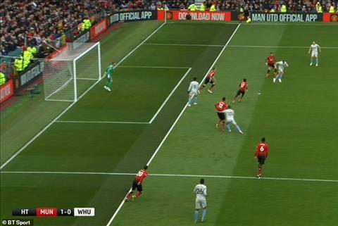 MU đánh bại West Ham may mắn nhờ trọng tài thiên vị hình ảnh
