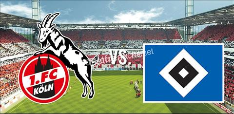 Cologne vs Hamburg 1h30 ngày 164 (Hạng 2 Đức 201819) hình ảnh