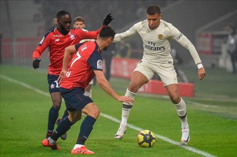 Video bàn thắng kết quả Lille vs PSG 5-1 vòng 32 Ligue 1 201819 hình ảnh
