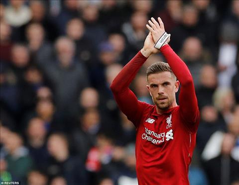 Henderson noi ve tran Liverpool vs Chelsea