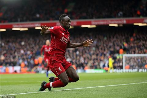 Mane lai mo ty so cho Liverpool