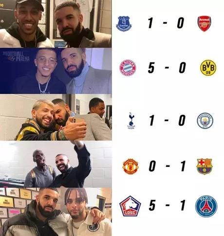 Roma phát lệnh cấm cầu thủ chụp ảnh với ca sĩ Drake hình ảnh