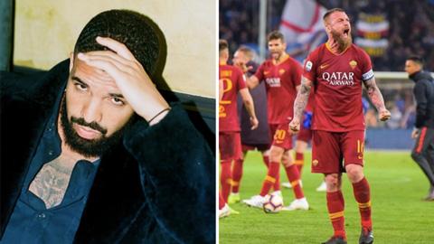 Cầu thủ Roma bị cấm chụp hình với ca sỹ nặng vía hình ảnh