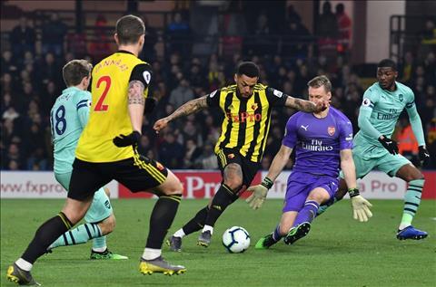 Arsenal vs Watford Leno vat va