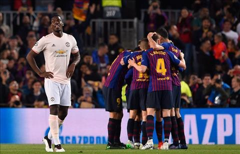 M.U thua Barca 3-0