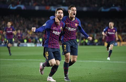 Barca 3-0 M.U Messi va Coutinho