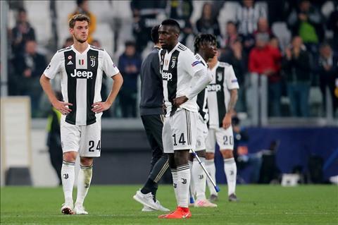 Juventus bi loai khoi Champions League