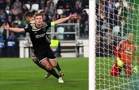 Matthijs de Ligt ghi ban truoc Juventus