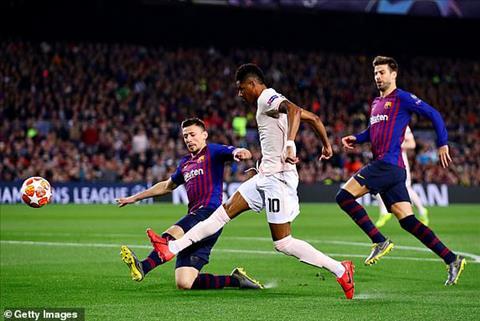 Trực tiếp Barca vs MU tứ kết cúp C1 Champions League 201819 hình ảnh