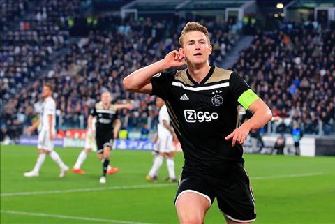 Barca và Man City tranh mua trung vệ De Ligt của Ajax ở hè 2019 hình ảnh