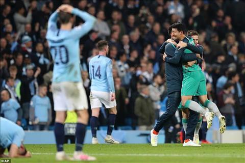 HLV Pep Guardiola nói về trận Man City vs Tottenham hình ảnh