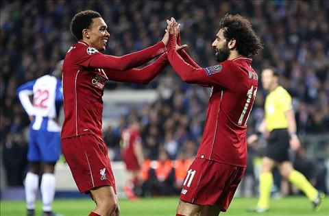 Liverpool thang Porto Salah va Arnold