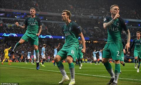 Thống kê Man City vs Tottenham - Tứ kết lượt về C1 201819 hình ảnh