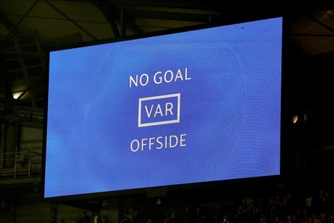 VAR Tottenham vs Man City