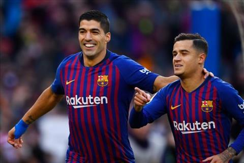 HLV Klopp khen Suarez và Coutinho trước trận Barca vs Liverpool hình ảnh