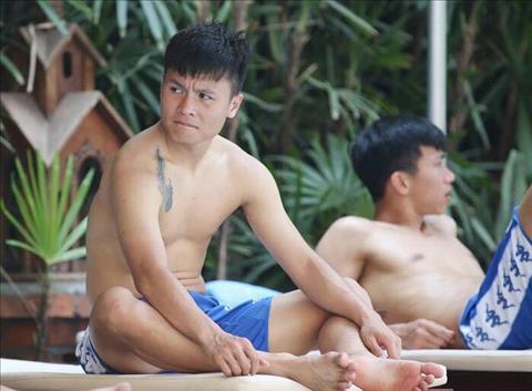 Quang Hải và đồng đội xả hơi sau chiến thắng đậm trước Yangon hình ảnh