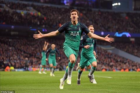 Llorente Eriksen Tottenham vs Man City