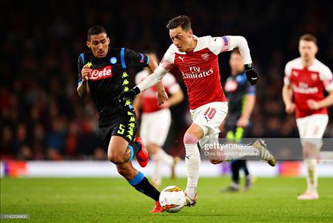 Napoli vs Arsenal Xem trực tiếp tứ kết Europa League ở kênh nào  hình ảnh