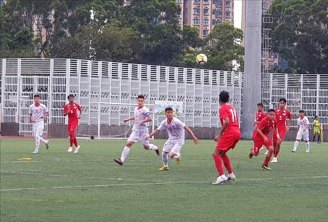U18 Việt Nam có chiến thắng mở màn trước U18 Singapore hình ảnh