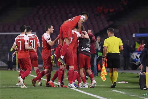 Ban thang duy nhat cua Lacazette giup Arsenal danh bai Napoli 1-0