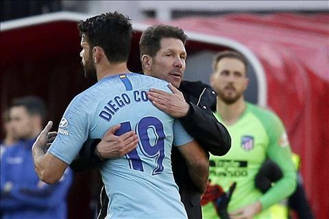 HLV Simeone chia sẻ về Diego Costa sau án treo giò 8 trận hình ảnh