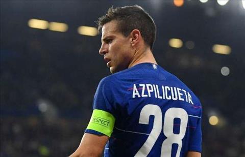 Thắng Slavia tại Europa League, Cesar Azpilicueta vẫn thất vọng  hình ảnh
