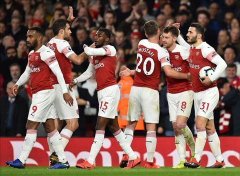 HLV Unai Emery phát biểu về đội hình Arsenal hình ảnh