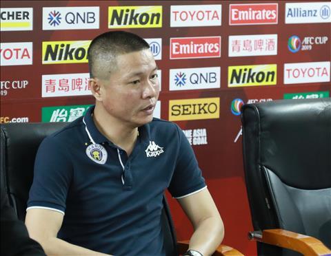 HLV Chu Đình Nghiêm không thể lý giải Hà Nội thua Yangon United hình ảnh