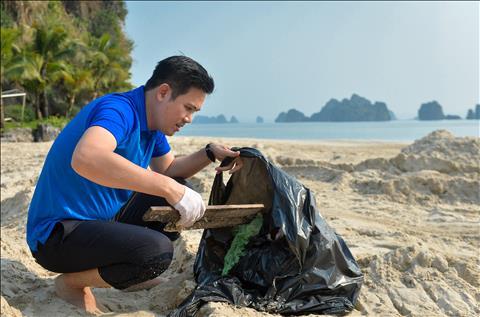 CLB Than Quang Ninh don rac 6