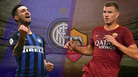 Inter Milan vs Roma 1h30 ngày 214 (Serie A 201819) hình ảnh