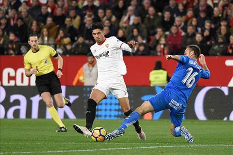 Getafe vs Sevilla 19h00 ngày 224 (La Liga 201819) hình ảnh