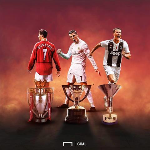 Ronaldo bo sung them vao bo suu tap danh hieu vo dich Serie A danh gia. Anh: Goal.