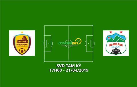 Quảng Nam vs HAGL Xem trực tiếp bóng đá V-League ở kênh nào  hình ảnh
