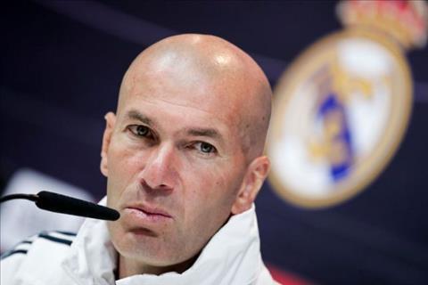 Zinedine Zidane rời trại tập trung của Real vì lý do cá nhân hình ảnh